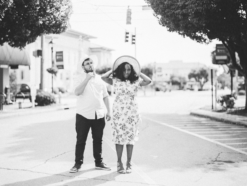 Four Corners Photography Macon engagement session downtown macon engagement photos corinthia and james-21.jpg
