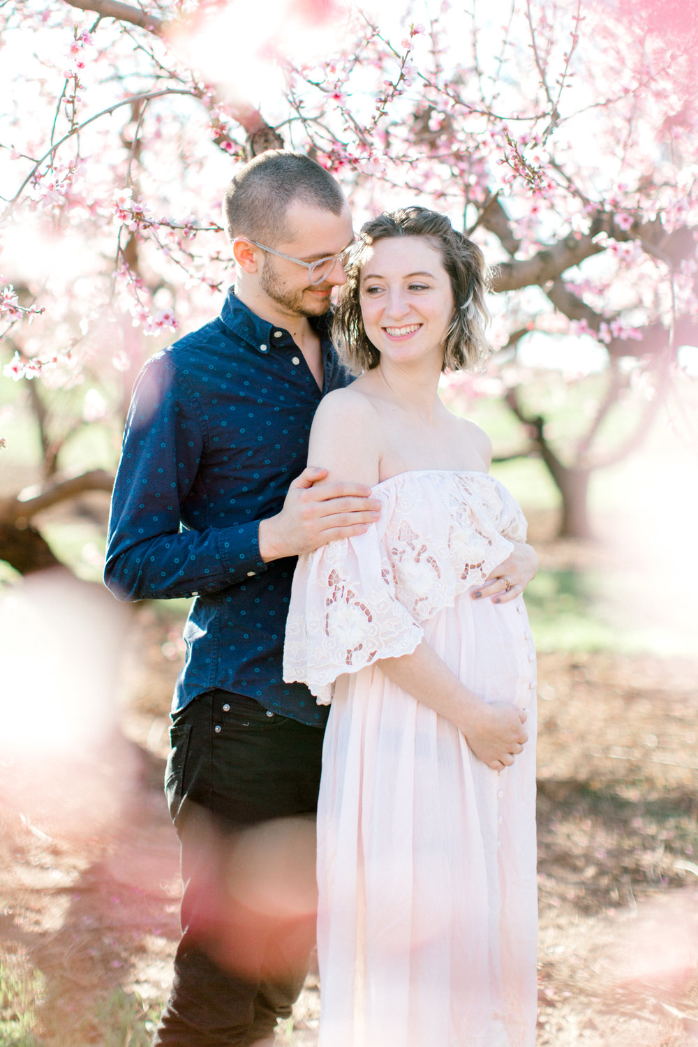 four corners photography peach blossom mini sessions peach blossom maternity session (2 of 25).jpg