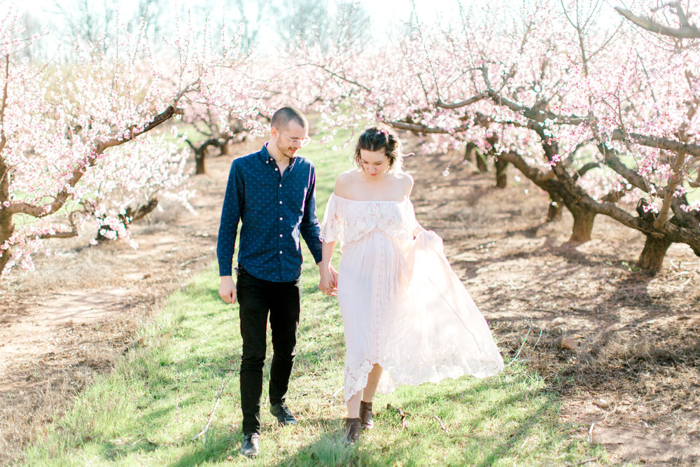 four corners photography peach blossom mini sessions peach blossom maternity session (1 of 25).jpg