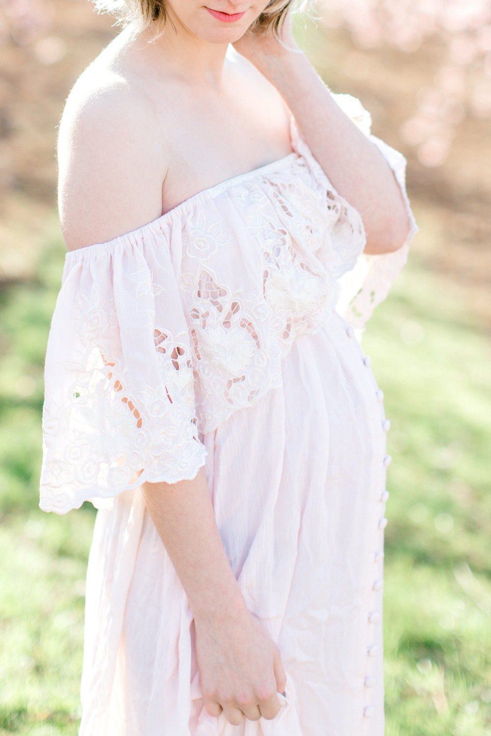four corners photography peach blossom mini sessions peach blossom maternity session (5 of 25).jpg