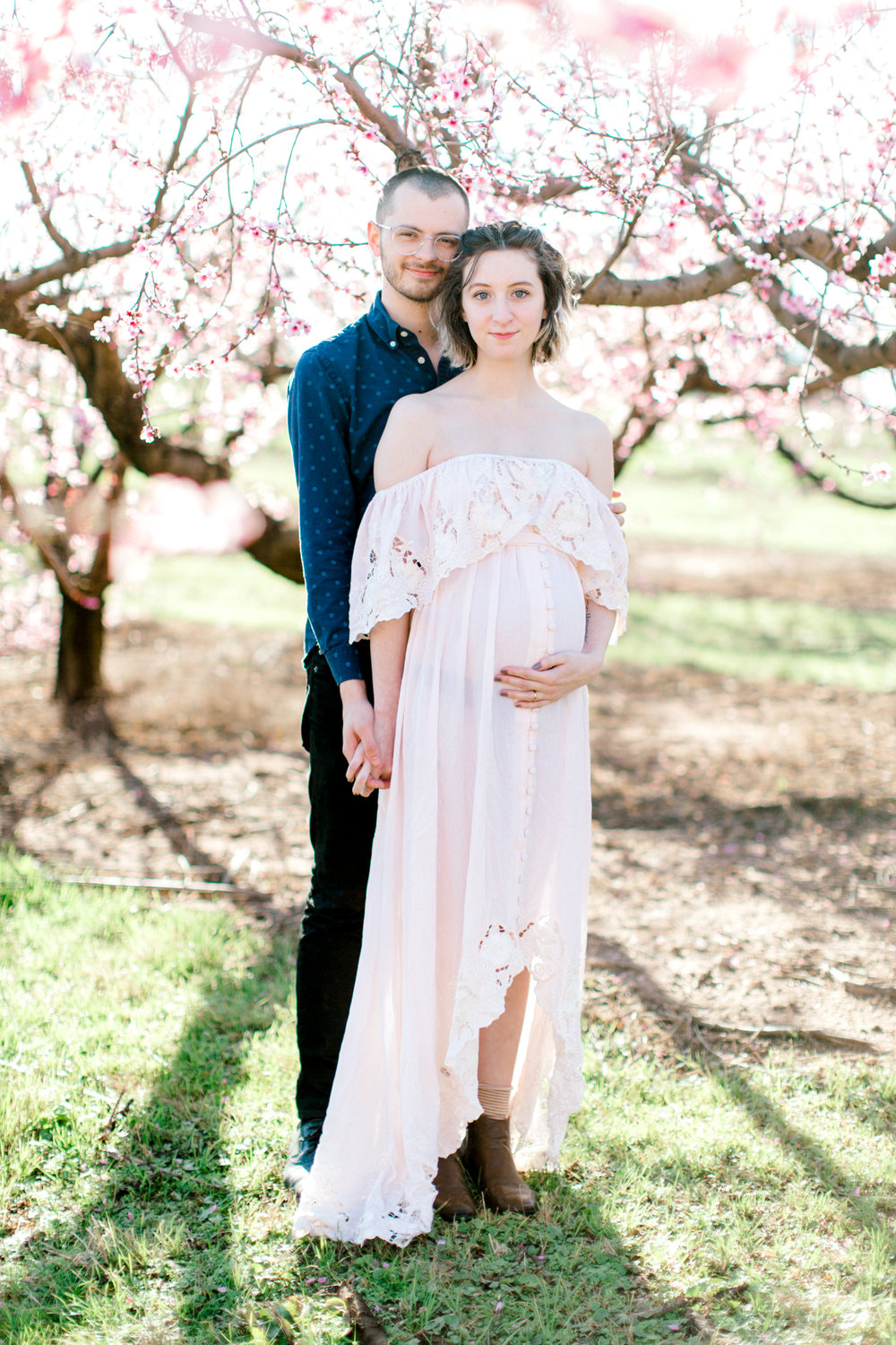 four corners photography peach blossom mini sessions peach blossom maternity session (6 of 25).jpg