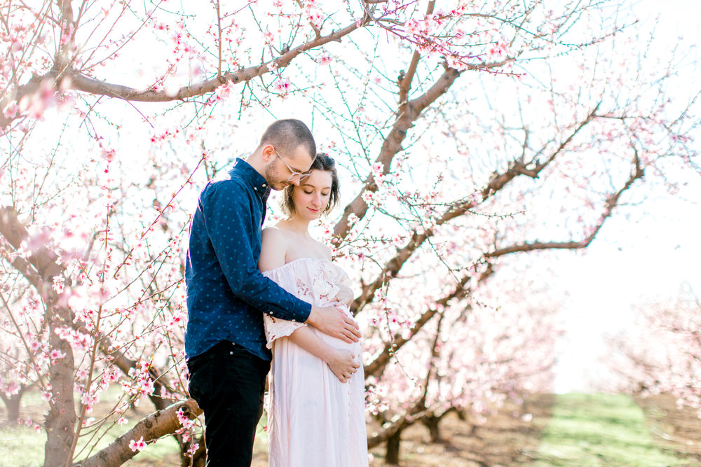 four corners photography peach blossom mini sessions peach blossom maternity session (7 of 25).jpg