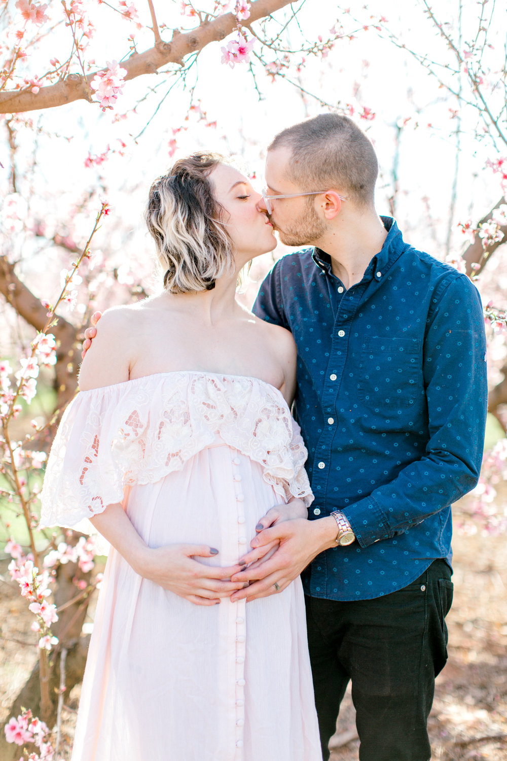 four corners photography peach blossom mini sessions peach blossom maternity session (11 of 25).jpg
