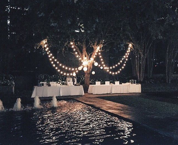 Wedding at Nasher Sculpture Museum  event:  Three Twelve Co.   design: Tiana Mae Design