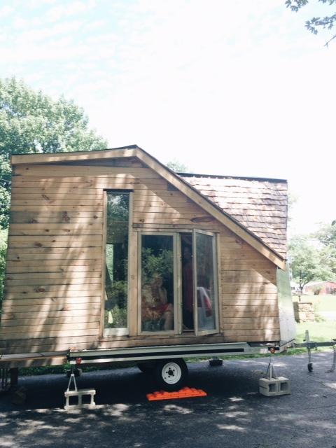 The tiny studio