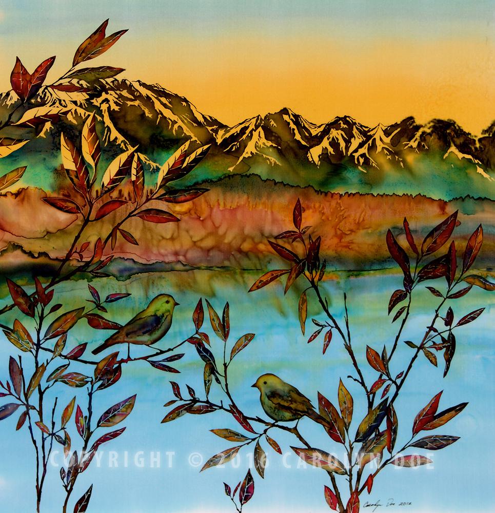 Sunset on Willows