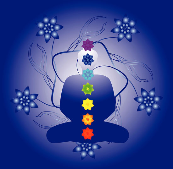 Each primary chakra is associated with a specific endocrine gland