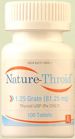 A natural Rx thyroid  medication