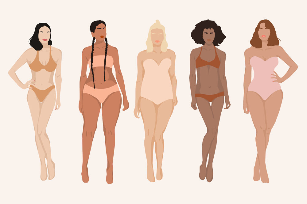 The Best Cheat Sheet For Dressing Your Body Type Holly Daze