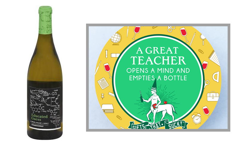 """1.  Educated Guess  Chardonnay from  totalwine.com  