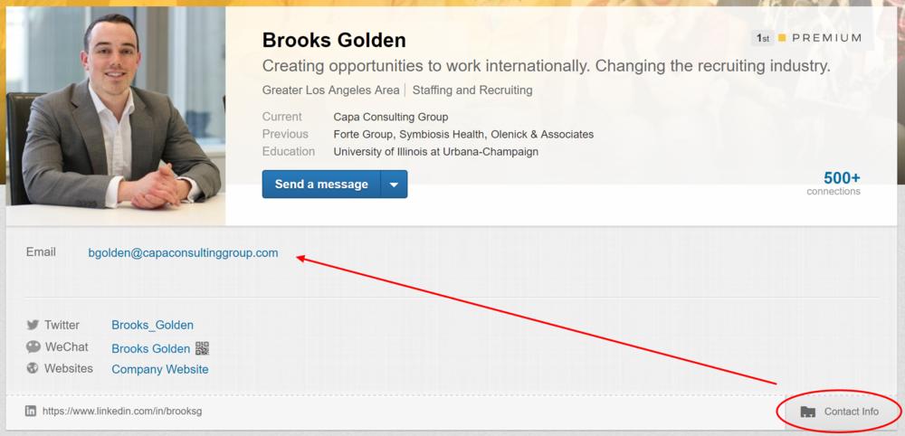 LinkedIn-profile-topcard