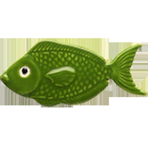 "4"" Green Fish"