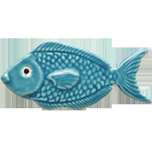 "4"" Light Blue Fish"