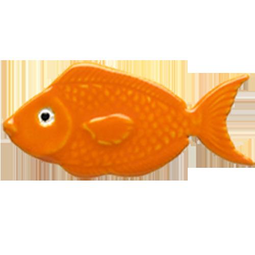 """4"""" Orange Fish"""