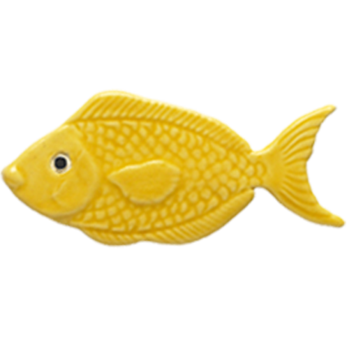 """4"""" Yellow Fish"""