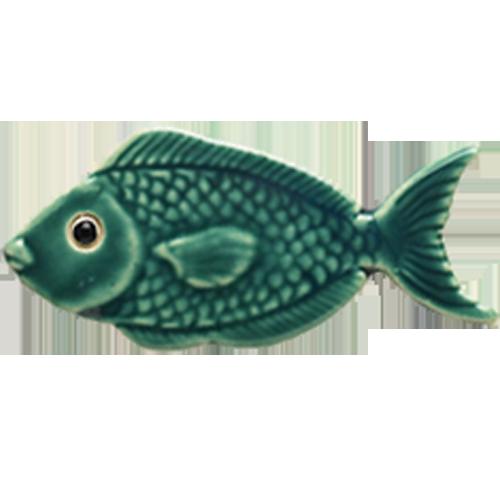 """4"""" Teal Fish"""