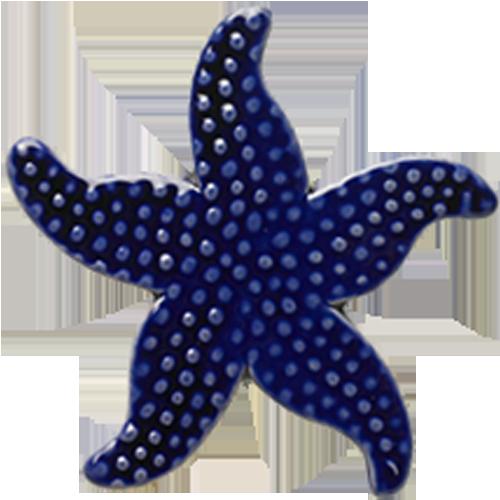 "5"" Royal Blue Starfish"