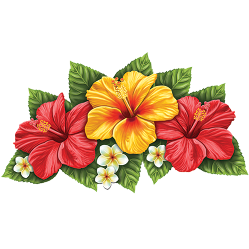 Hibiscus Flower (Triple)