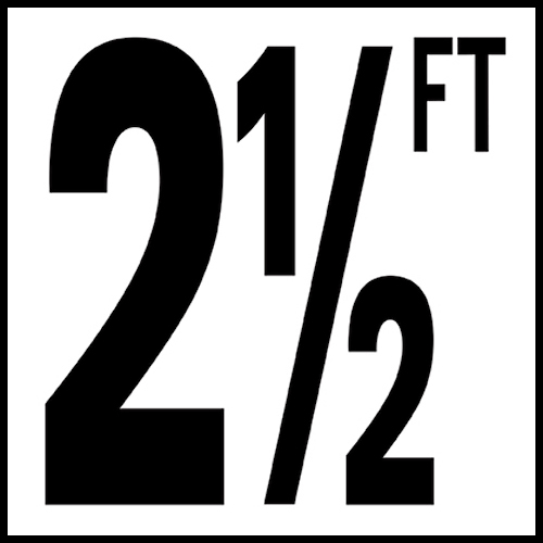Smooth: DM51-2025 Non-Skid: DM52-2025