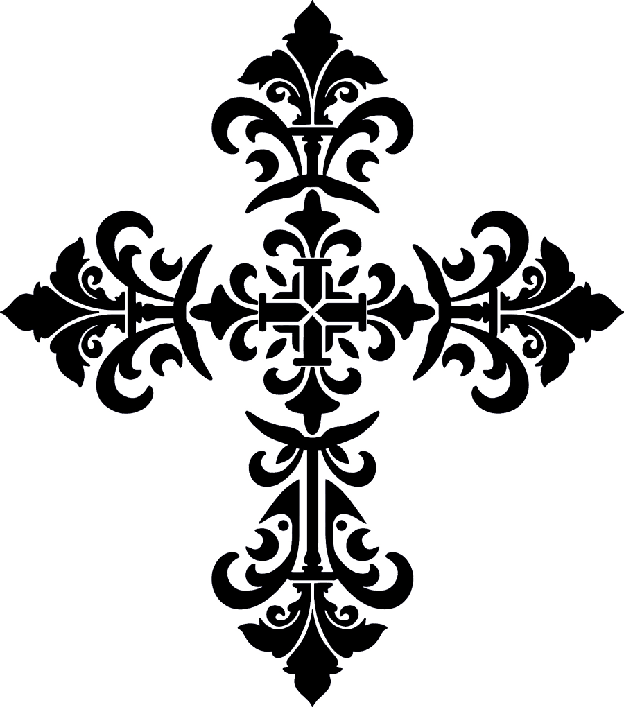 Baroque Cross Black.png