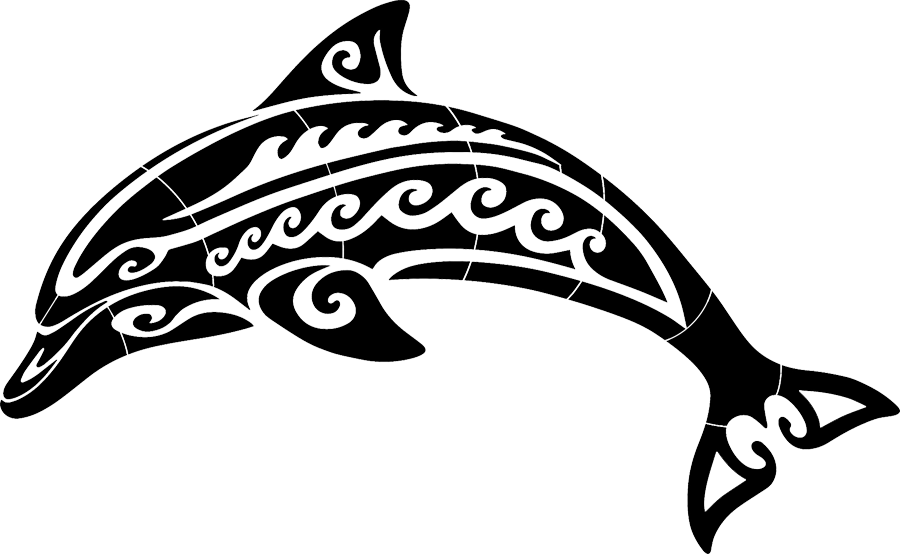 Tribal Dolphin Black.png