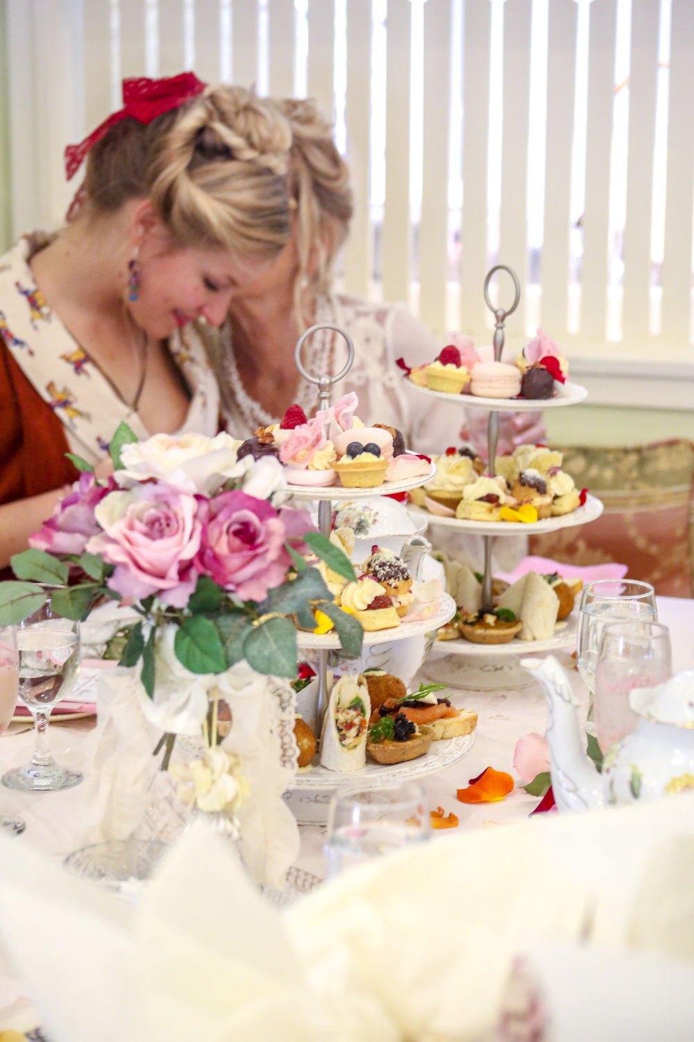 Rose Bliss High Tea is held in the Tearoom from Monday to Saturday at 11am or 2pm. Bookings Essential   http://flutterbies.com.au/high-tea-booking