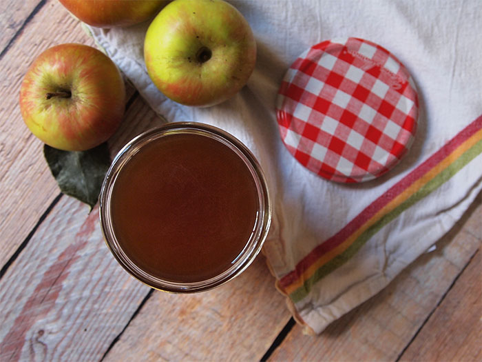 Bottle up the flavors of fall apple harvest in this Chai Apple Shrub. Just 5 ingredients to make this shrub that's juicy and tart with just enough spicy warm flavors to make you want to cozy up on the couch with a good book. Perfect for cocktails.