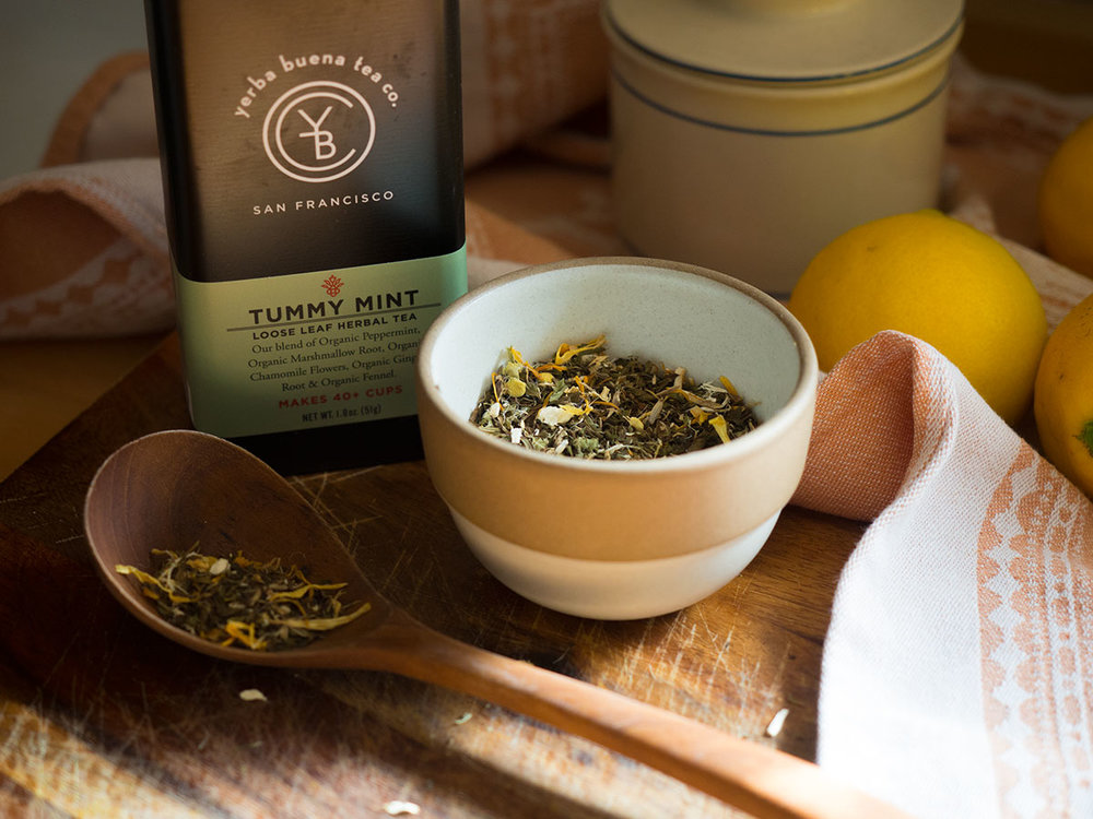 Lots of fresh ginger, turmeric, peppermint and lemon come together to create this Magic Golden Wellness Tea to help prevent and fight colds. Get the recipe for this decoction and learn about the traditional healing properties of these herbs.