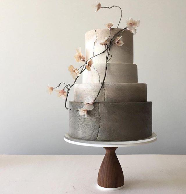 🍰✨ just look at this cake! 📷 @jasmineraecakes #cakeoftheday #flowercake