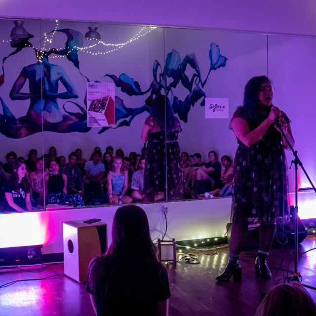 Featuring at Sofar Sounds in Boston, MA