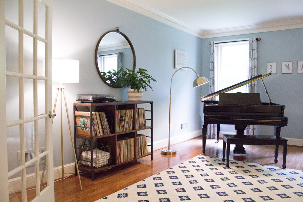 The Piano Room - Designed By The Georgian Goose