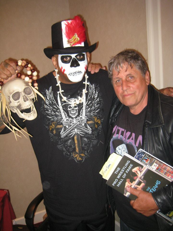Smith Hart with Papa Shango