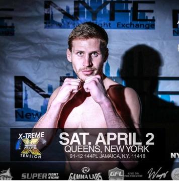 MMA fighter Austin Wolfson of Long Beach