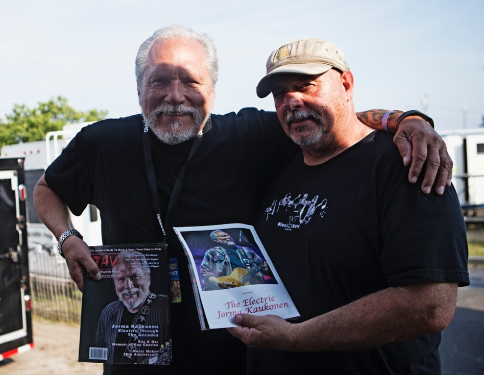 Jim Faith with Hot Tuna's Jorma Kaukonen