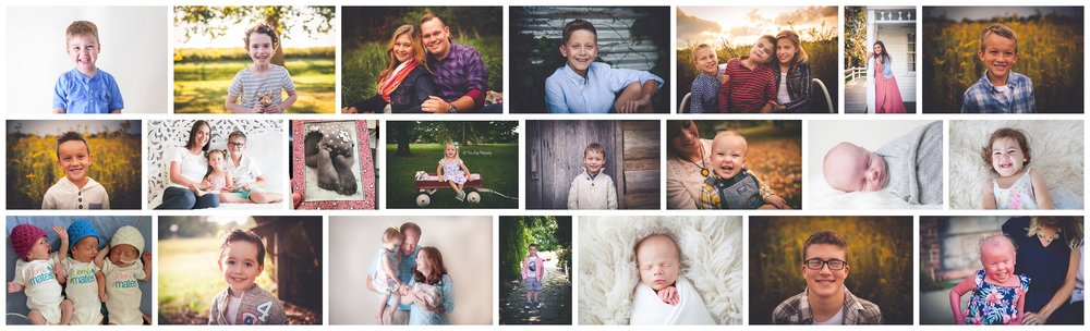 Tara Long Photography Families that have stayed in the HSHS St. John's Hospital's NICU.