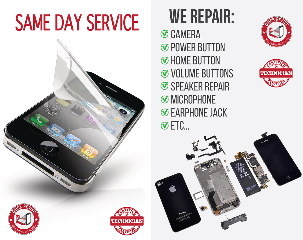 iPhone, iPad, Tablet & Samsung Phone Repair in Des Moines @Quick ...