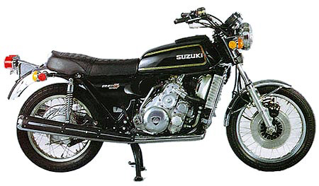 Suzuki RE5 rotary engined motorcycle 1975