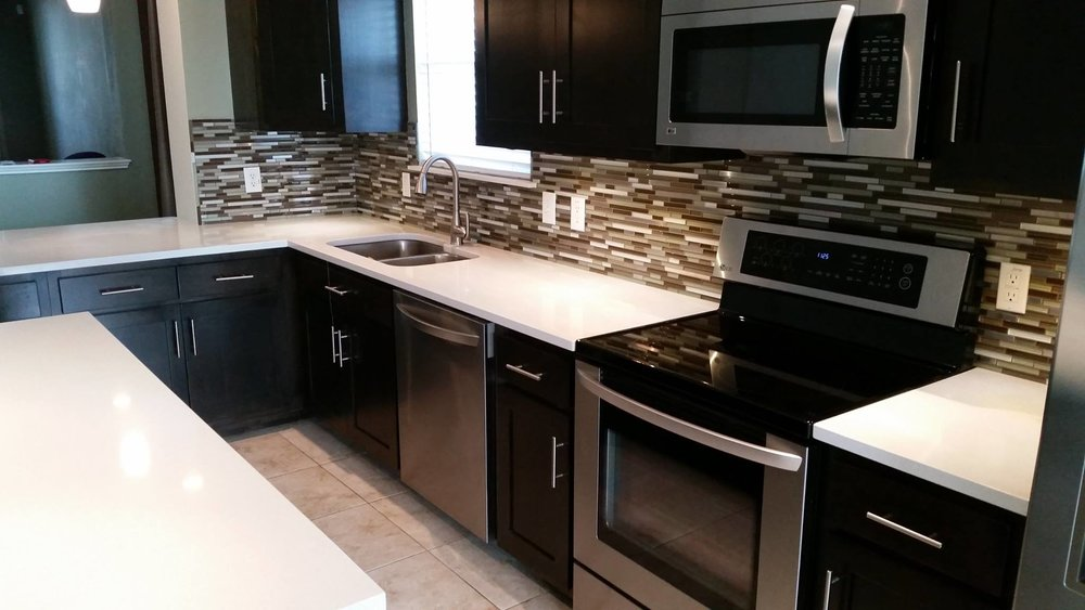 Let us give you an estimate on a full kitchen remodel