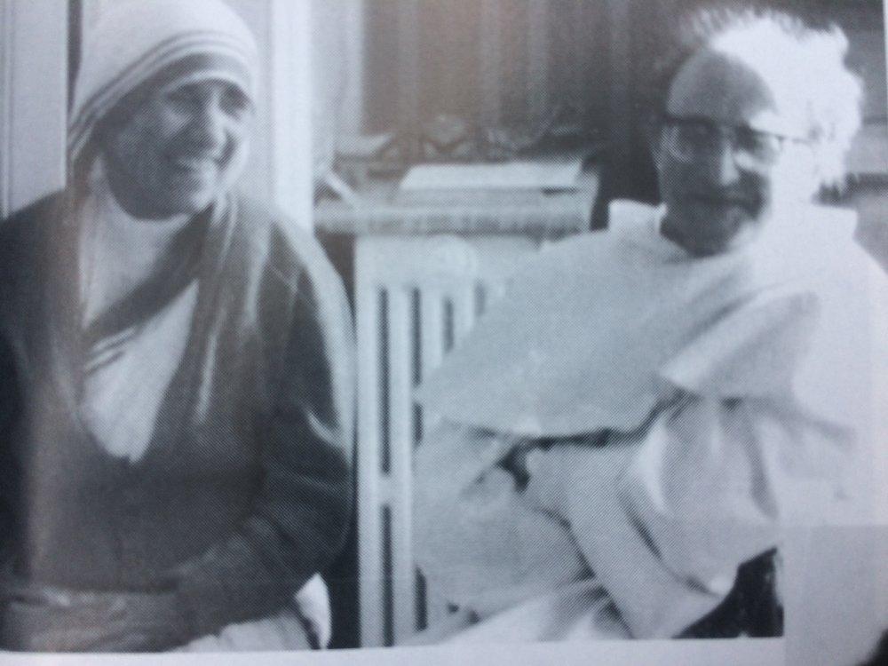 Mother Teresa and Pere Thomas