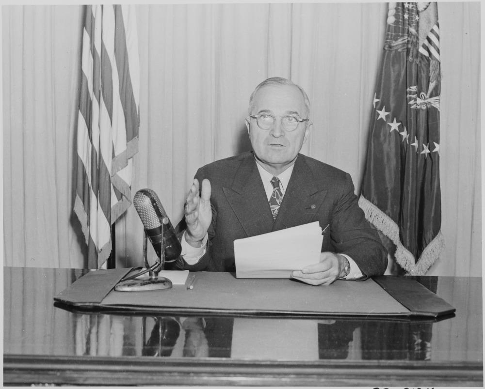 President Harry S Truman