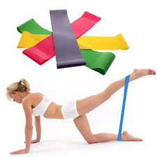 Elastic resistance bands | $8 per metre - 100% Brand New And High QualityThese bands are suitable for Yoga, Aerobics, Fitness, & rehab purposes.