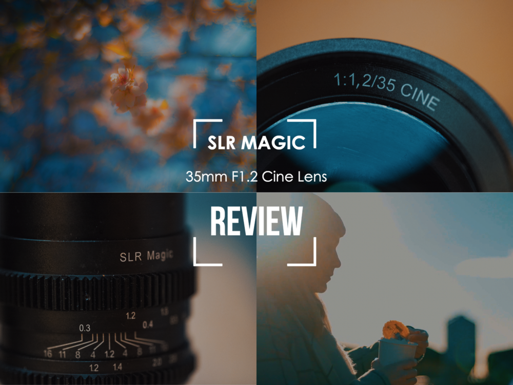 SLR Magic 35mm Cine upclose with the Samyang 100mm Macro, a7sii
