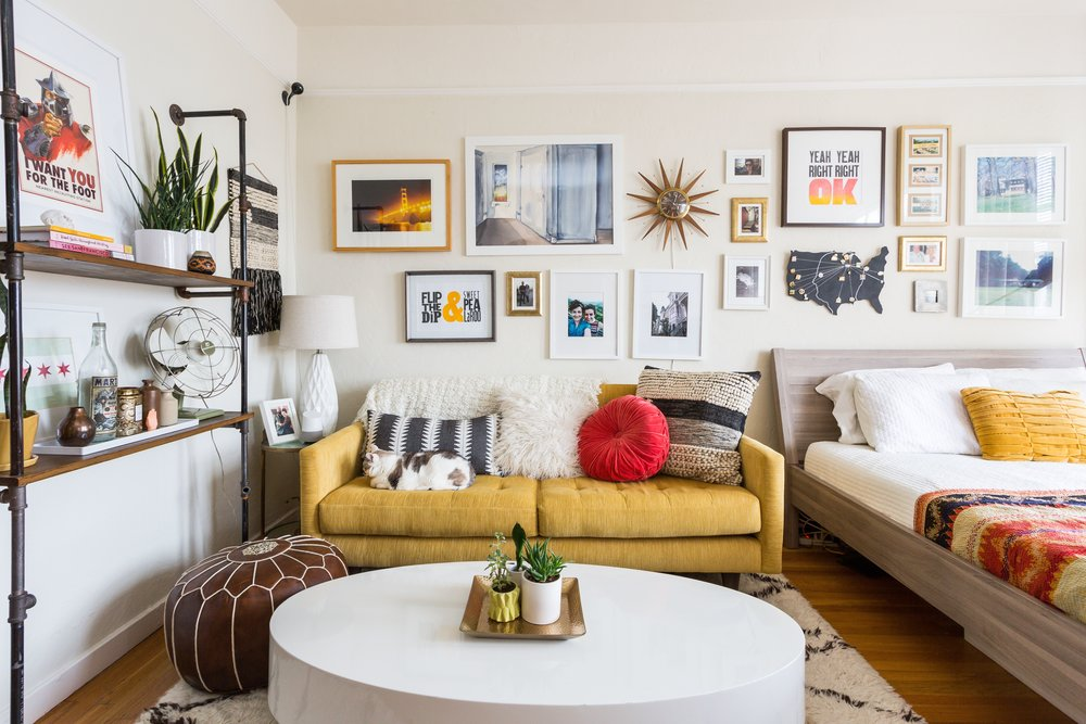 7x7 | April 2017  Small Space, Big Style: Take a Cue From the Instagram-Worthy Home of Visual Designer Adrianne Hawthorne