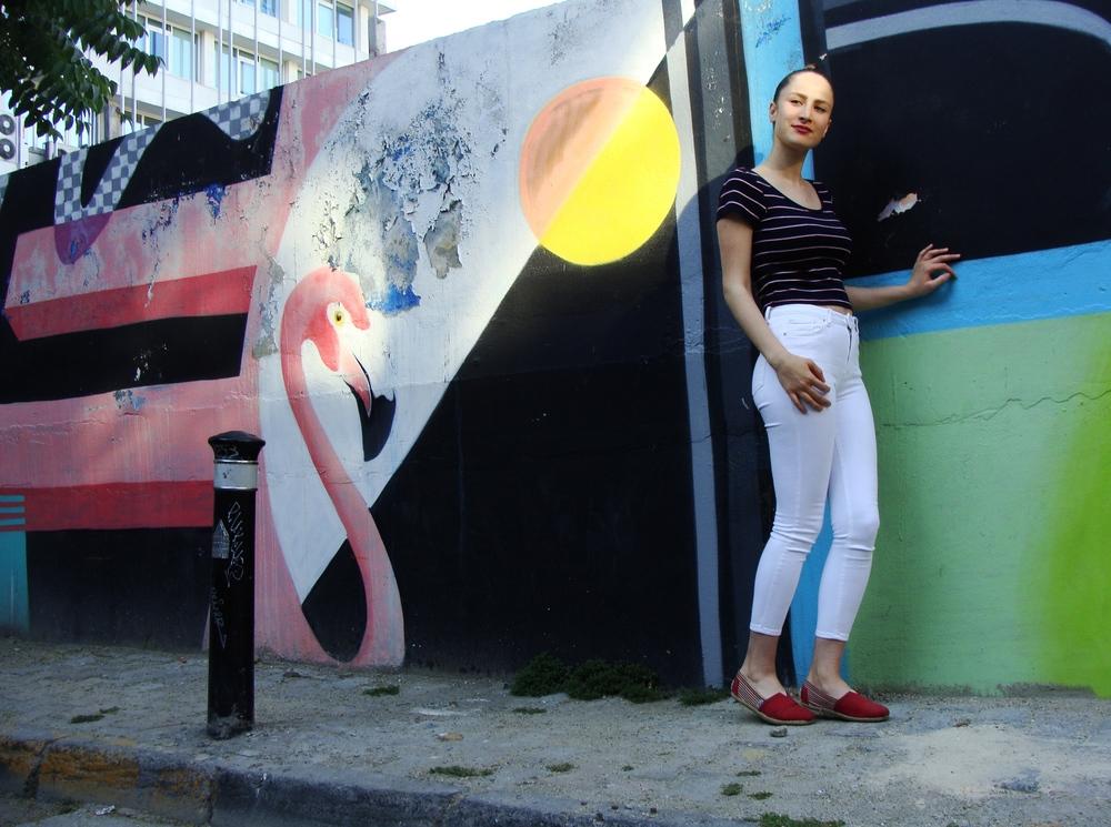 Girl mariniere posing Karakoy.JPG