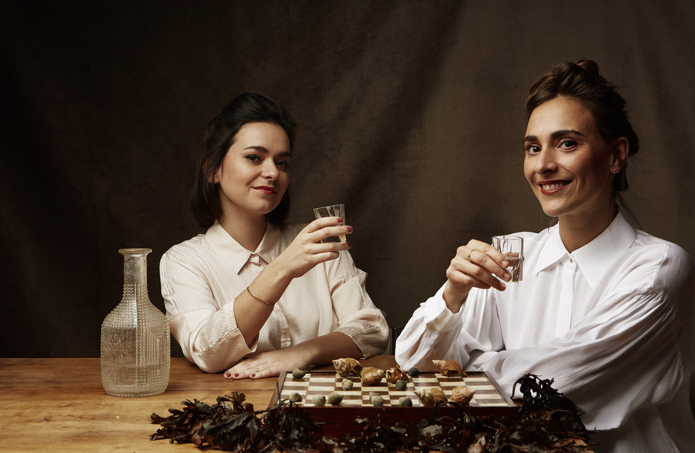 Lucile and Fanny Arnaud, founders of the bordeaux Food Club ©Mickael A. Bandassak