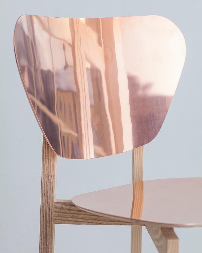 La chaise 'Doppio' par Riku Tuppela