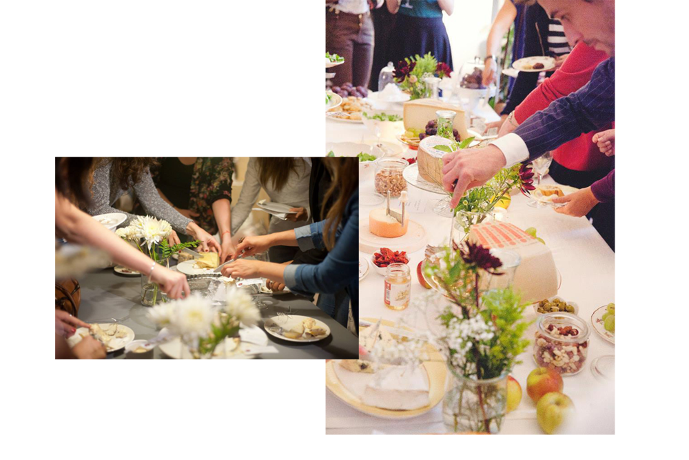 Les Cheese&Wine Sauvages — 2014 © Emmanuelle Gerin / © Jehanne Moll