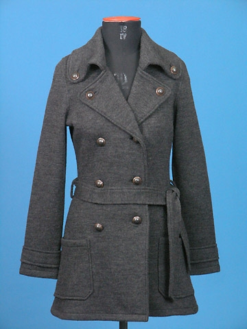 FP-132 Boiled wool coat