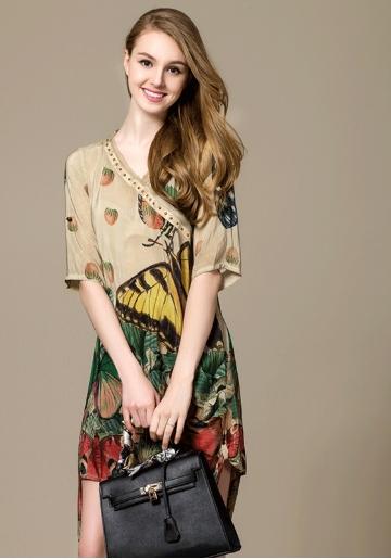 FP-344 Silk dress