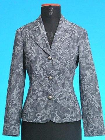 FP-96 Paisley pattern jaquard blazer